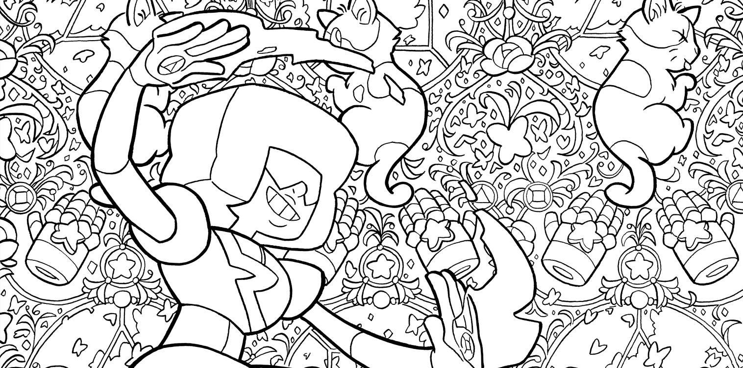 Gale Galligan | steven universe coloring book